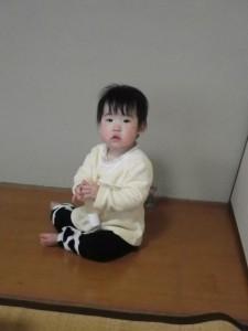 2012年2月1日わらべうたベビーマッサージの様子02